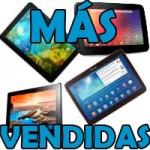 Tablets más vendidas en España
