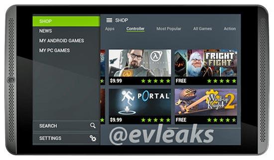 tablet para gamers nvidia