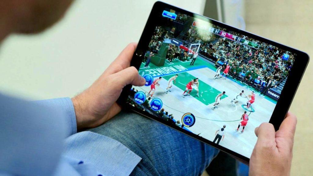 tablet para jugar