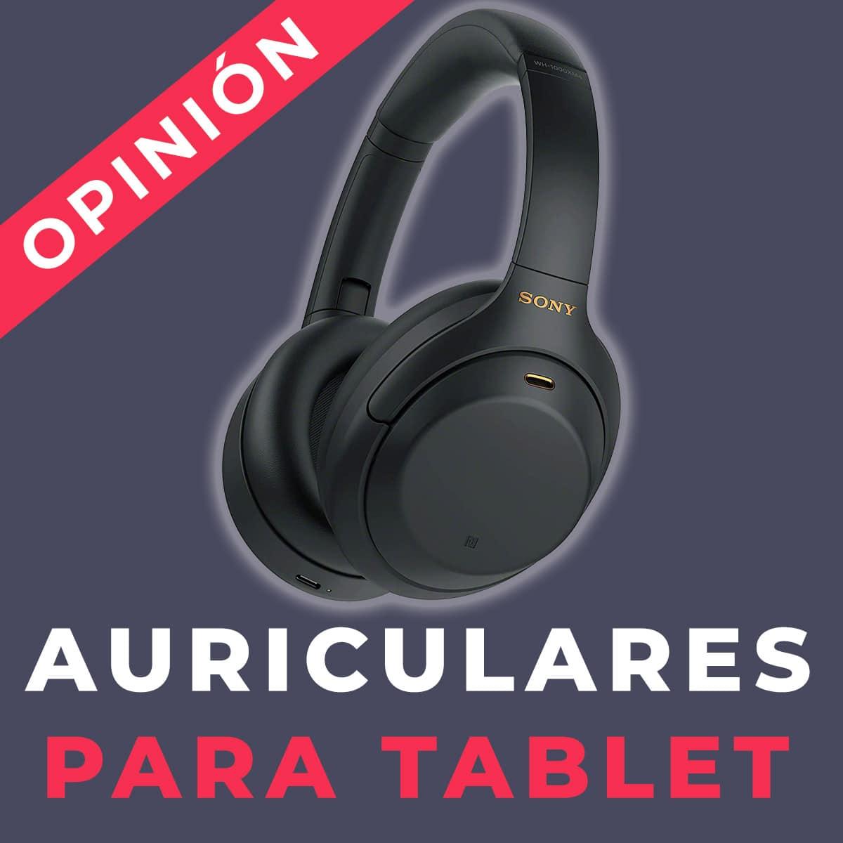 auriculares para tablet