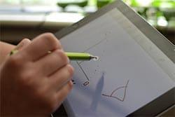 tablet para escribir