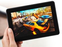 una tablet para jugar