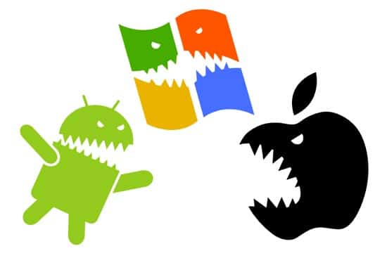 android apple o windows