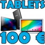 Mejores tablets de menos de 100 euros