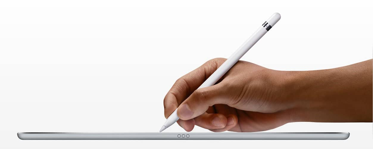 iPad Pro con Apple Pencil para estudiar