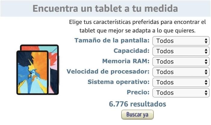 buscador tablets