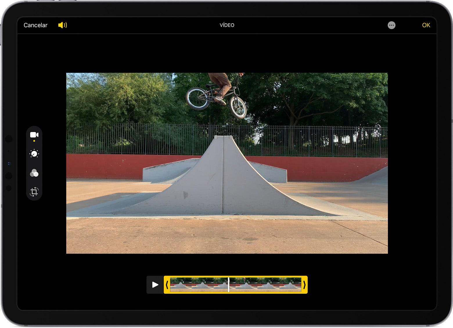 tablet para grabar video
