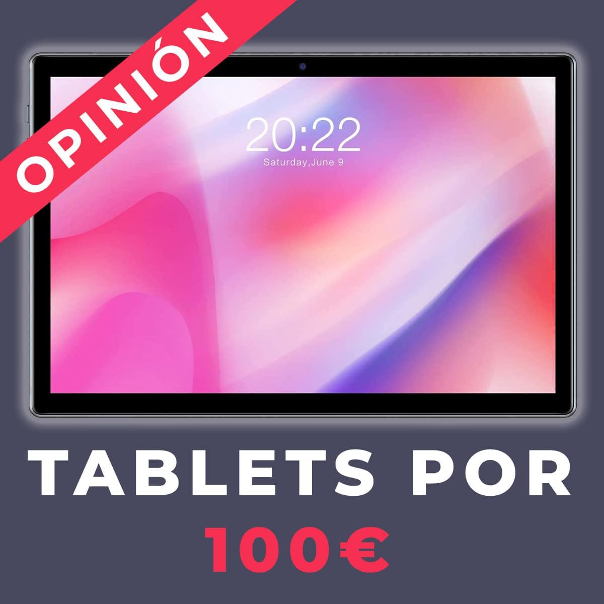 tablets por 100 euros