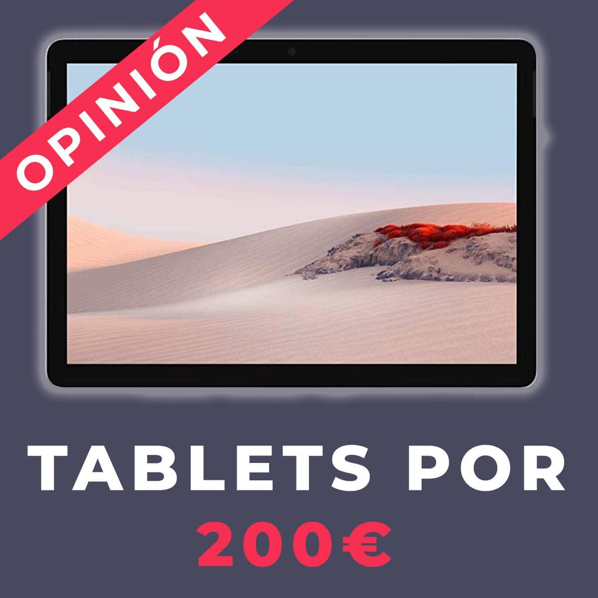 tablets por 200 euros