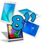 Tablet 8 pulgadas. ¿Cuál es mejor comprar?