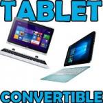 Tablet convertible. ¿Cuál es mejor comprar?