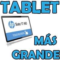 tablet más grande