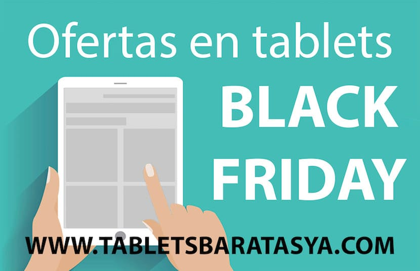 Tablets baratas black friday