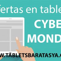 Tablets baratas en Cyber Monoday