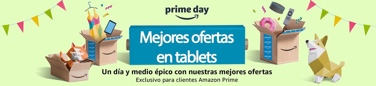 Ofertas en tablets en el Prime Day de Amazon
