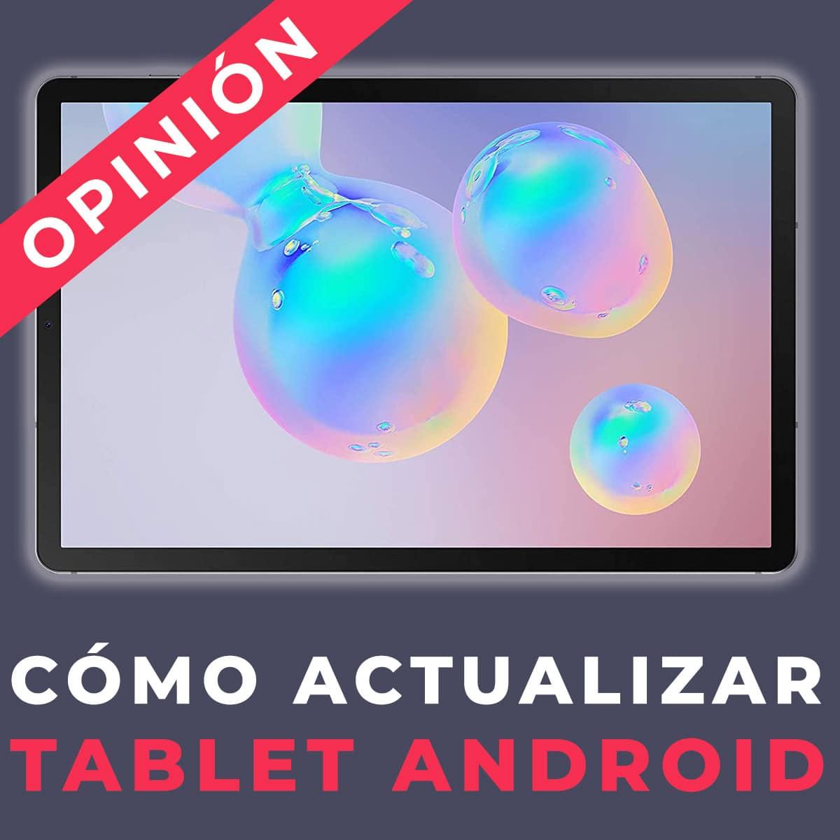 atualização tablet androide
