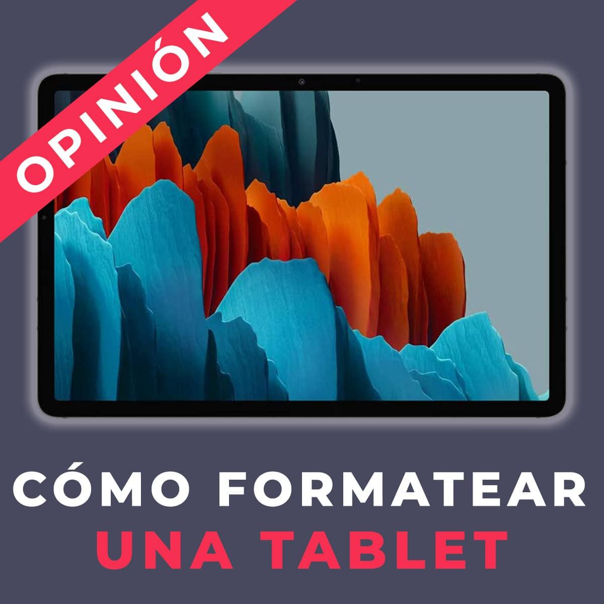 como formatar um tablet