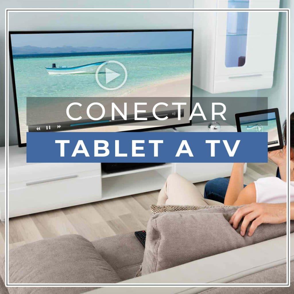 conectar tablet a tv