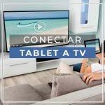 Ligue o tablet à TV