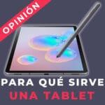 Para que serve um tablet?