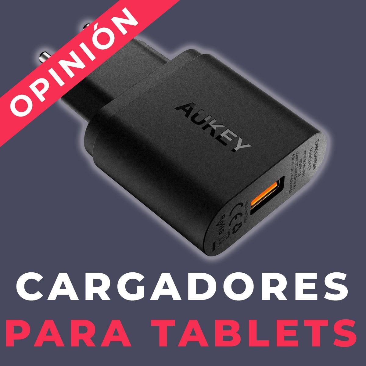 cargadores para tablet