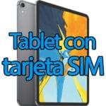 Tablet con tarjeta SIM