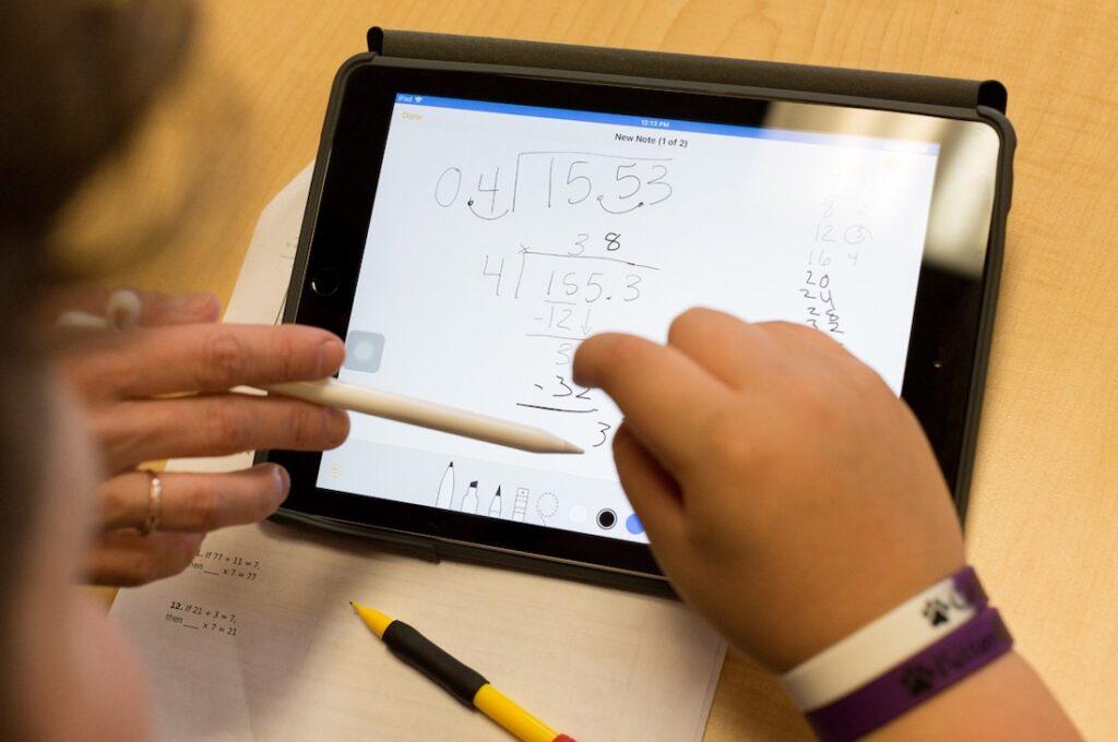 tablet para el colegio