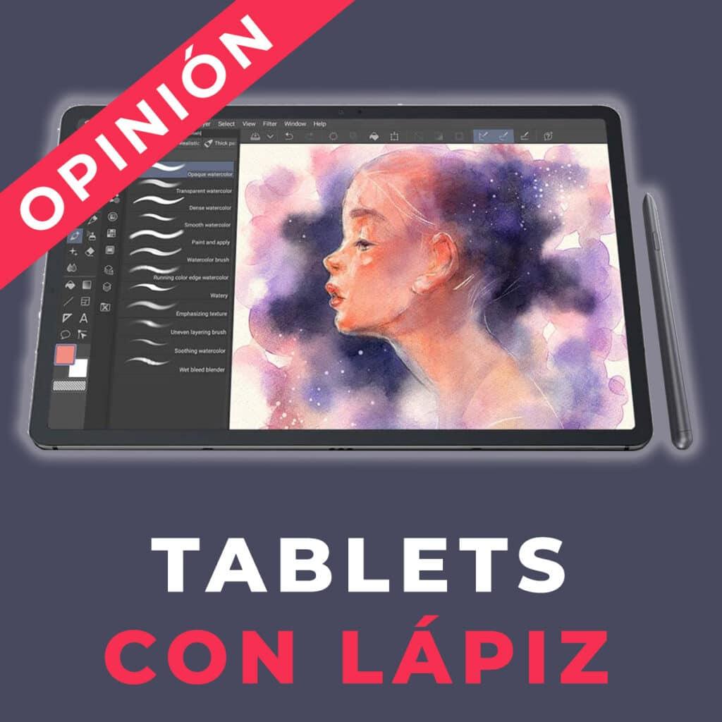 tablet con lapiz