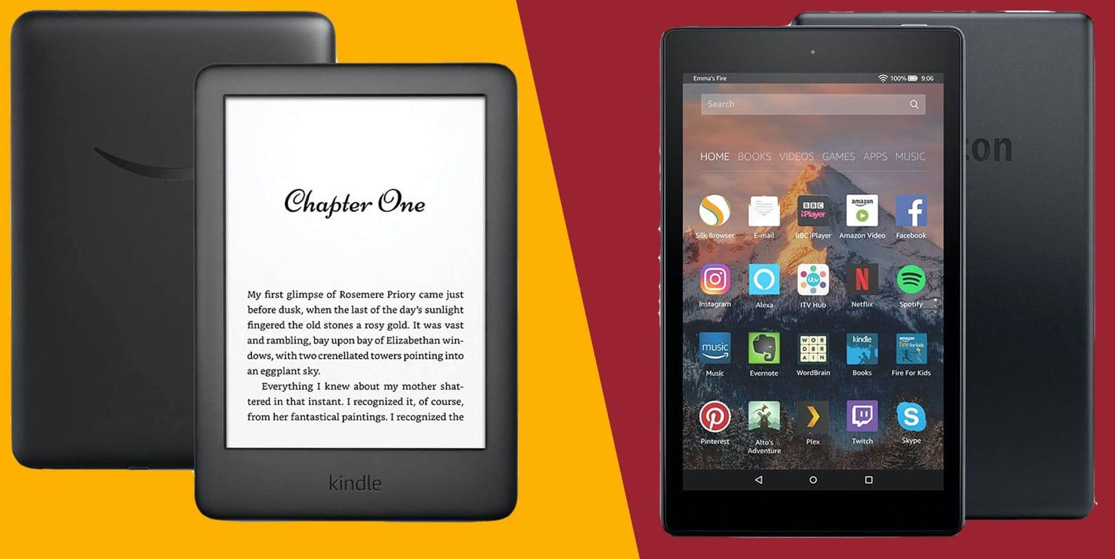 tablet o ereader para leer
