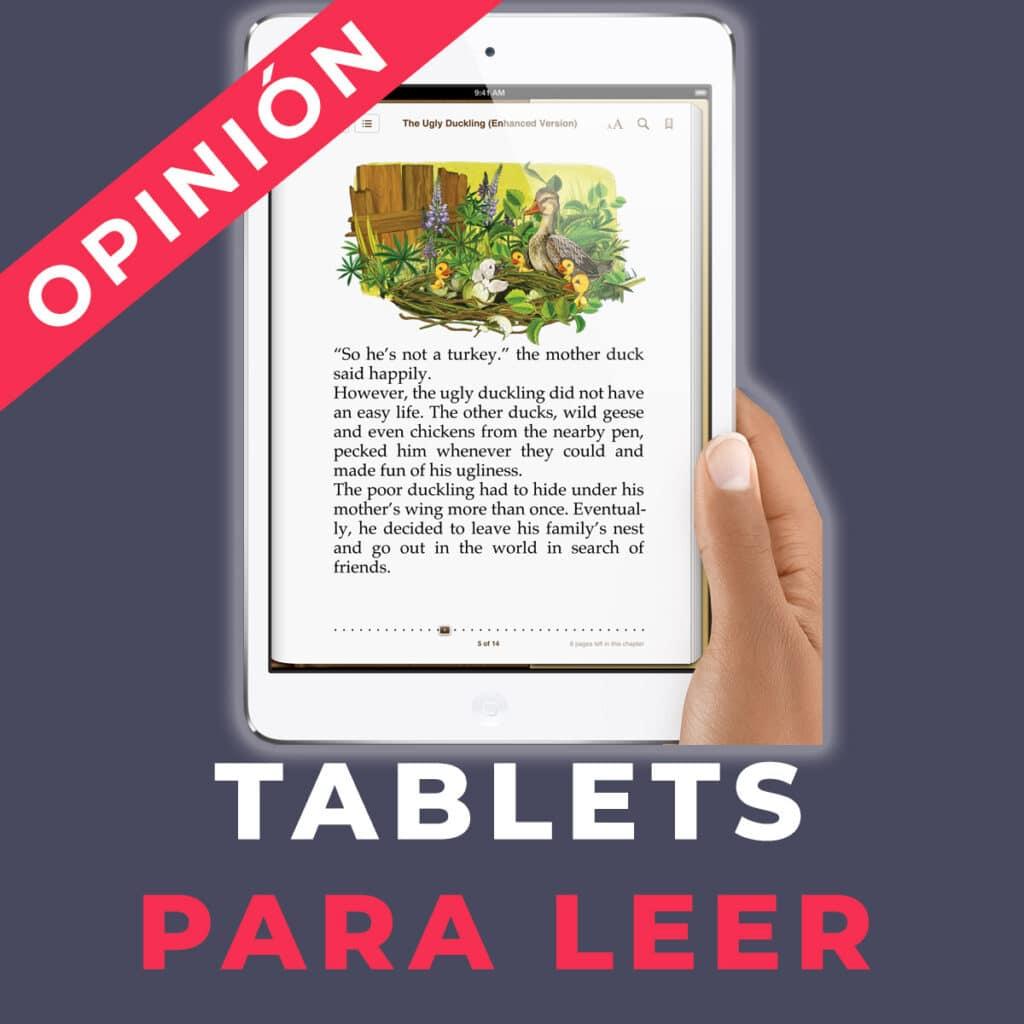 tablet para leer